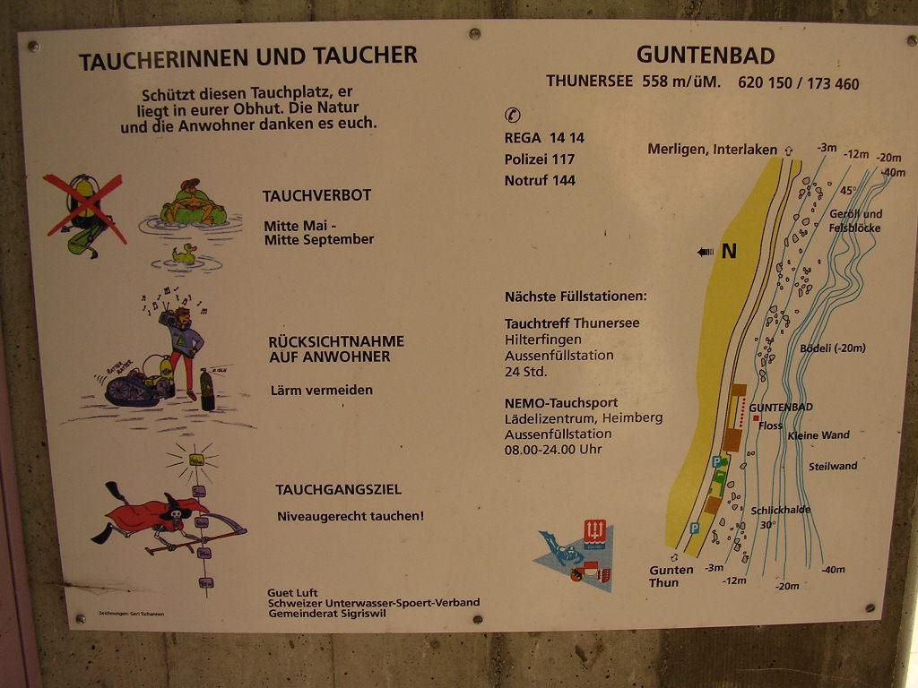 plongée à Gutenbad, lac de Thun Dscn0698